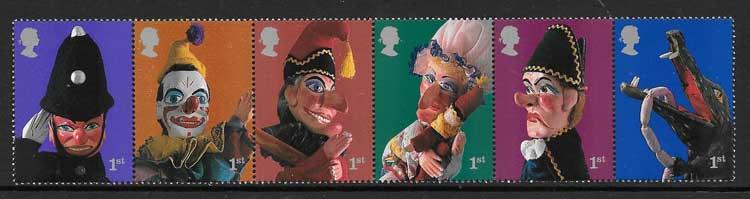 Colección sellos Comics Gran Bretaña