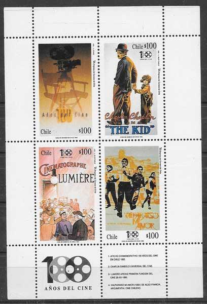 sellos cine Chile 1995