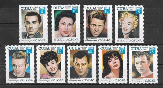 Colección sellos Cine Cuba-2001-13