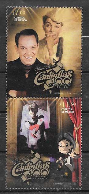 Sellos actor de cine Cantinflas