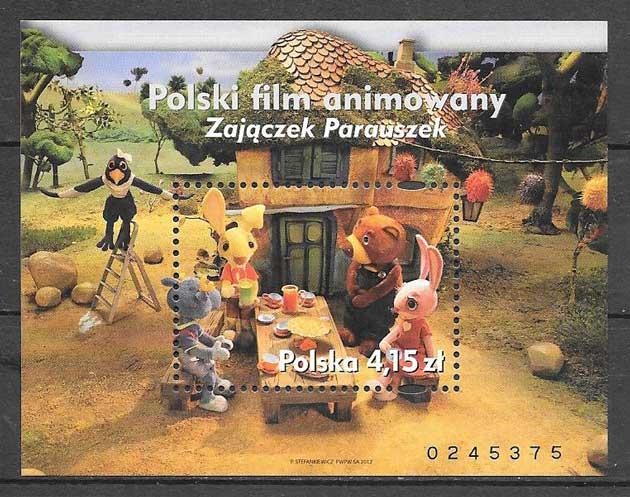Filatelia cine Polonia 2012