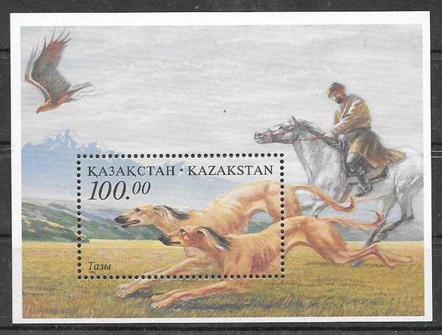 Sellos perros Kazakstán 1996