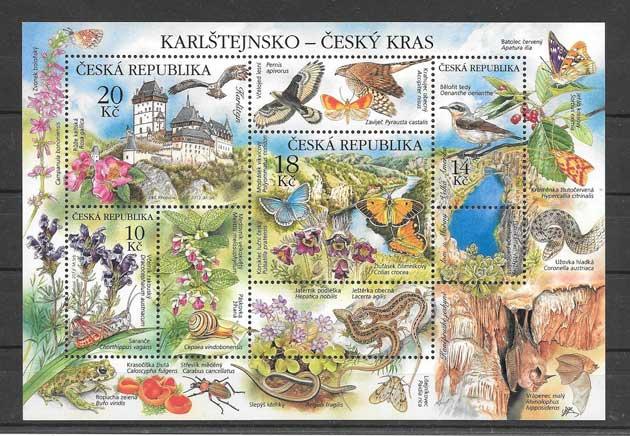 Filatelia sellos diversidad de flora y fauna del 2013