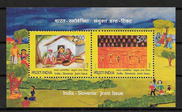 Stamps philately childhood day India 2014