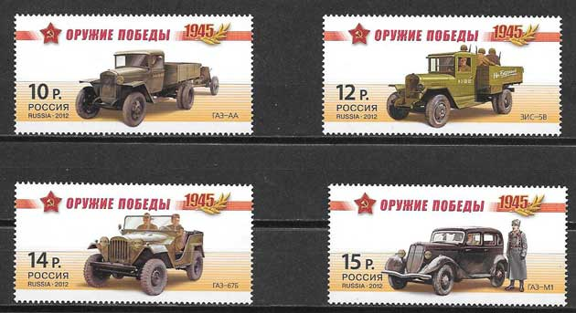 Colecionismo transporte Rusia 2012