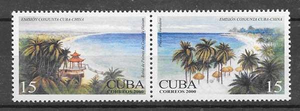 Sellos turismo cubano 2000