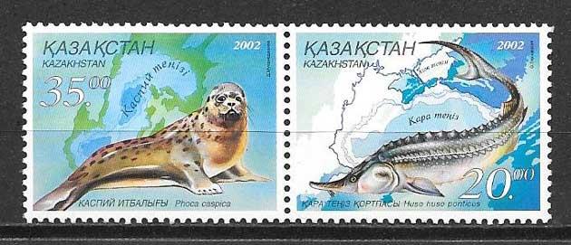 Sellos fauna Kazakstán 2002