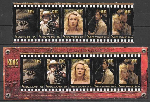 ColecciónSellos película de King Kong