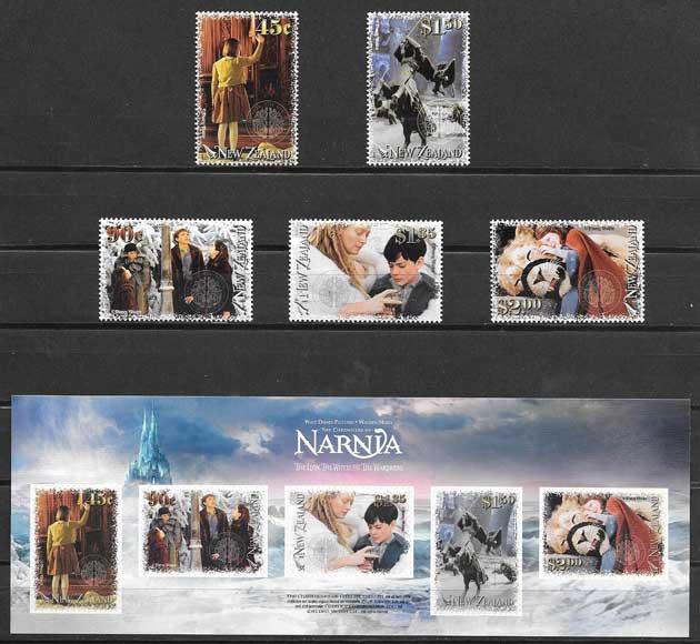 ColecciónSellos película El mundo de Narnia