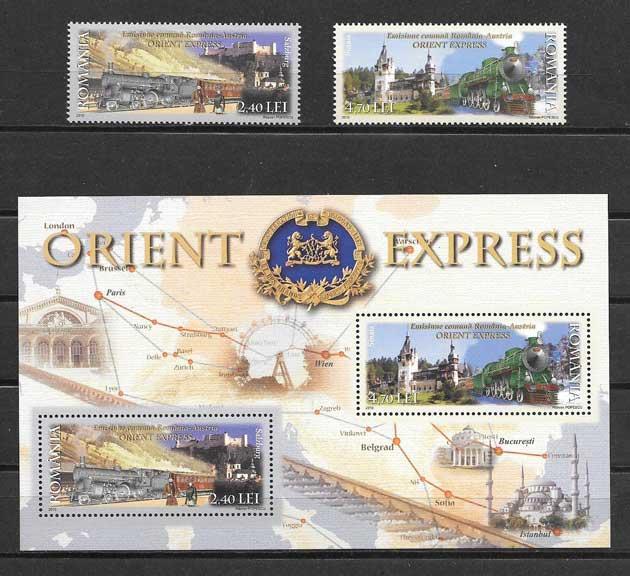Colección sellos Emisión Conjunta con Austria