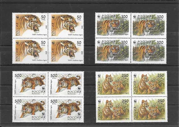 Filatelia sellos Rusia-1993-02