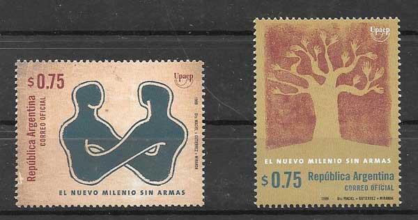 sellos América UPAEP 1999