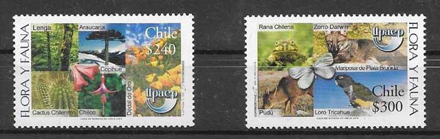 Estampillas Chile UPAEP 2003