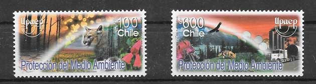 Filatelia Chile 2004 UPAEP
