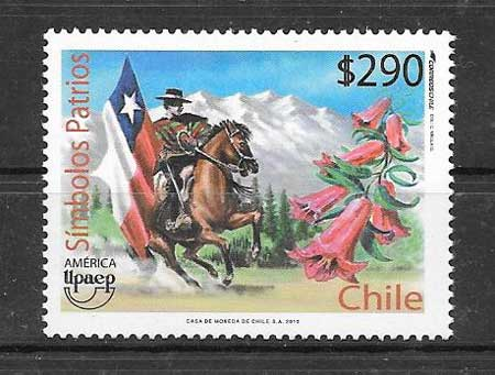 Estampillas UPAEP Chile 2010