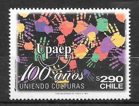 Filatelia UPAEP Chile 2011