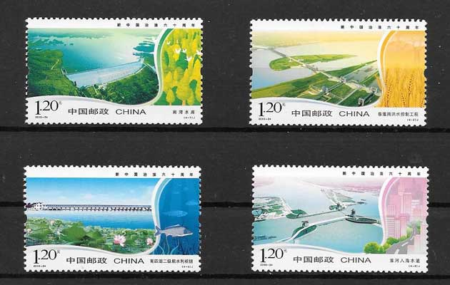 Philately stamps mastery of the river