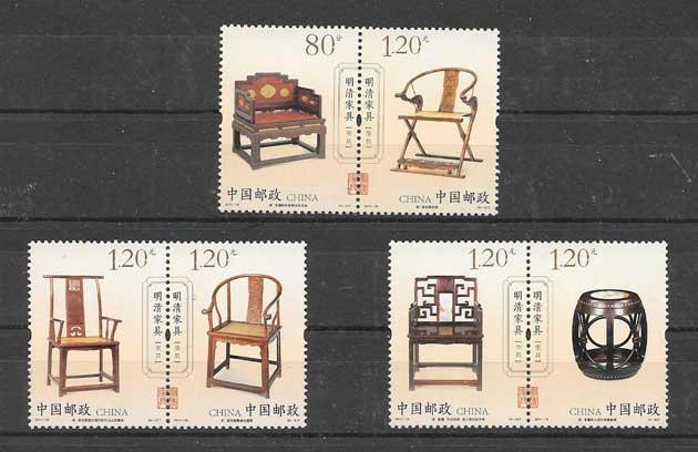 Ming Dynasty furniture philately