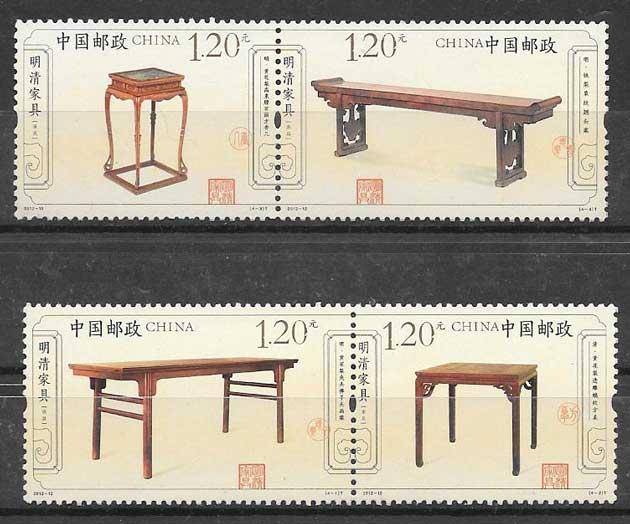 China Craft Stamps 2012