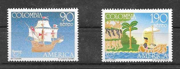 Coleccionismo Colombia 1991