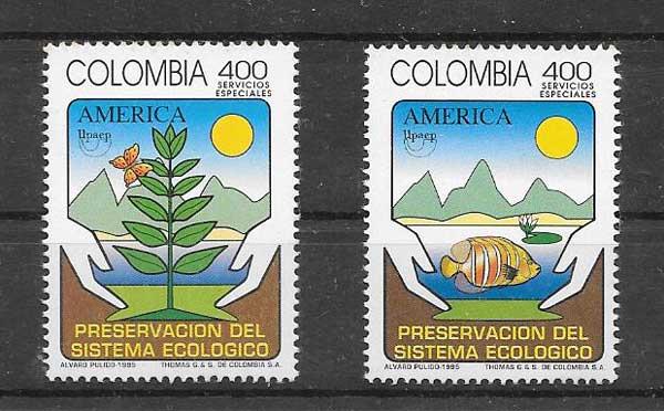 Colecionismo Colombia 1995
