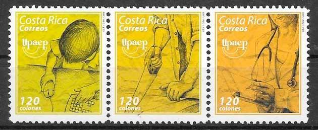 sellos Upaep Costa Rica 2005