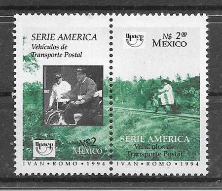 sellos colección UPAEP México 1994