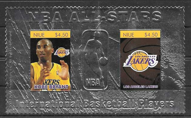 Sellos NBA ALL - STARS 2007