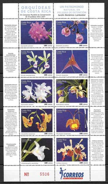 Colección Sellos Costa-Rica-2007-01