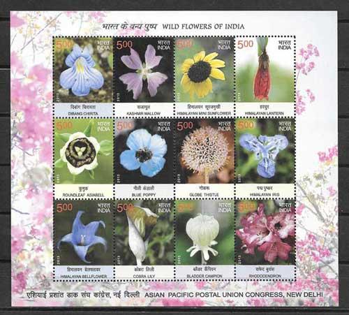 Colección sellos India-2013-01