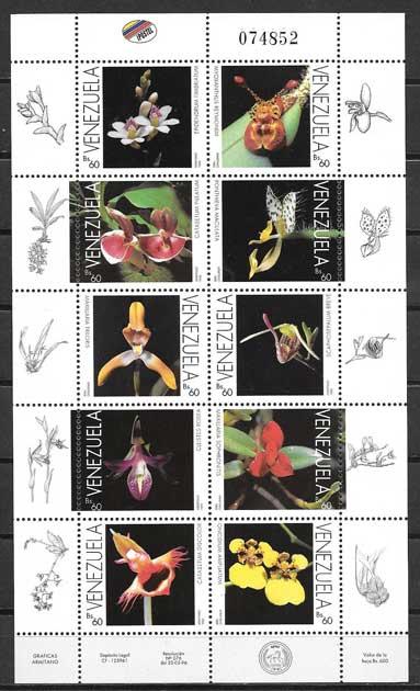 Colección Sellos Venezuela-1996-01