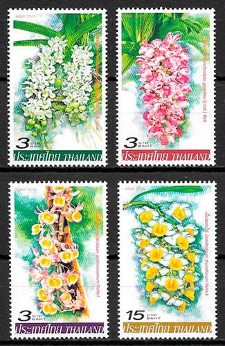 sellos flora Tailandia 2005