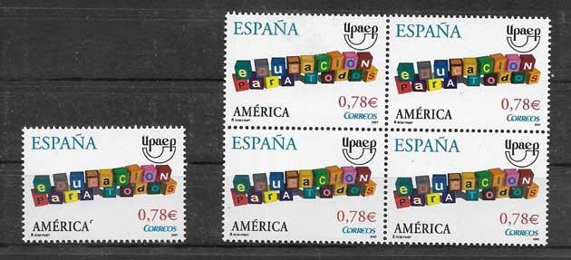 Stamps SPAIN 2007 UPAEP