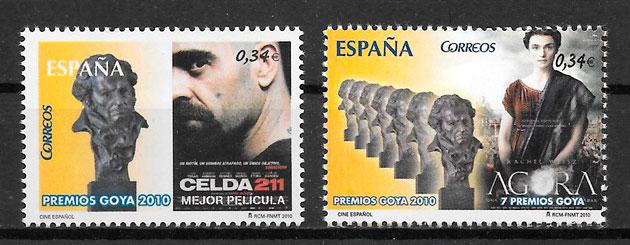 sellos cine España 2010