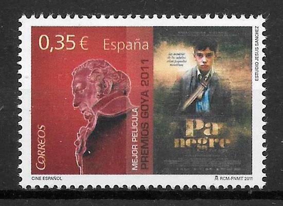 sellos cine España 2011