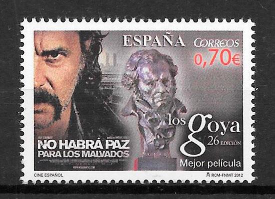 filatelia colección cine España 2012