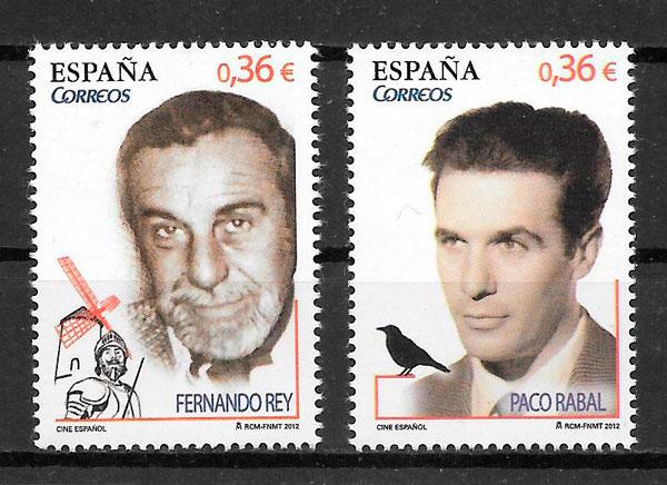 filatelia cine España 2012